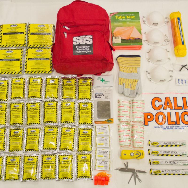 Earthquake & Emergency 72hr Kits