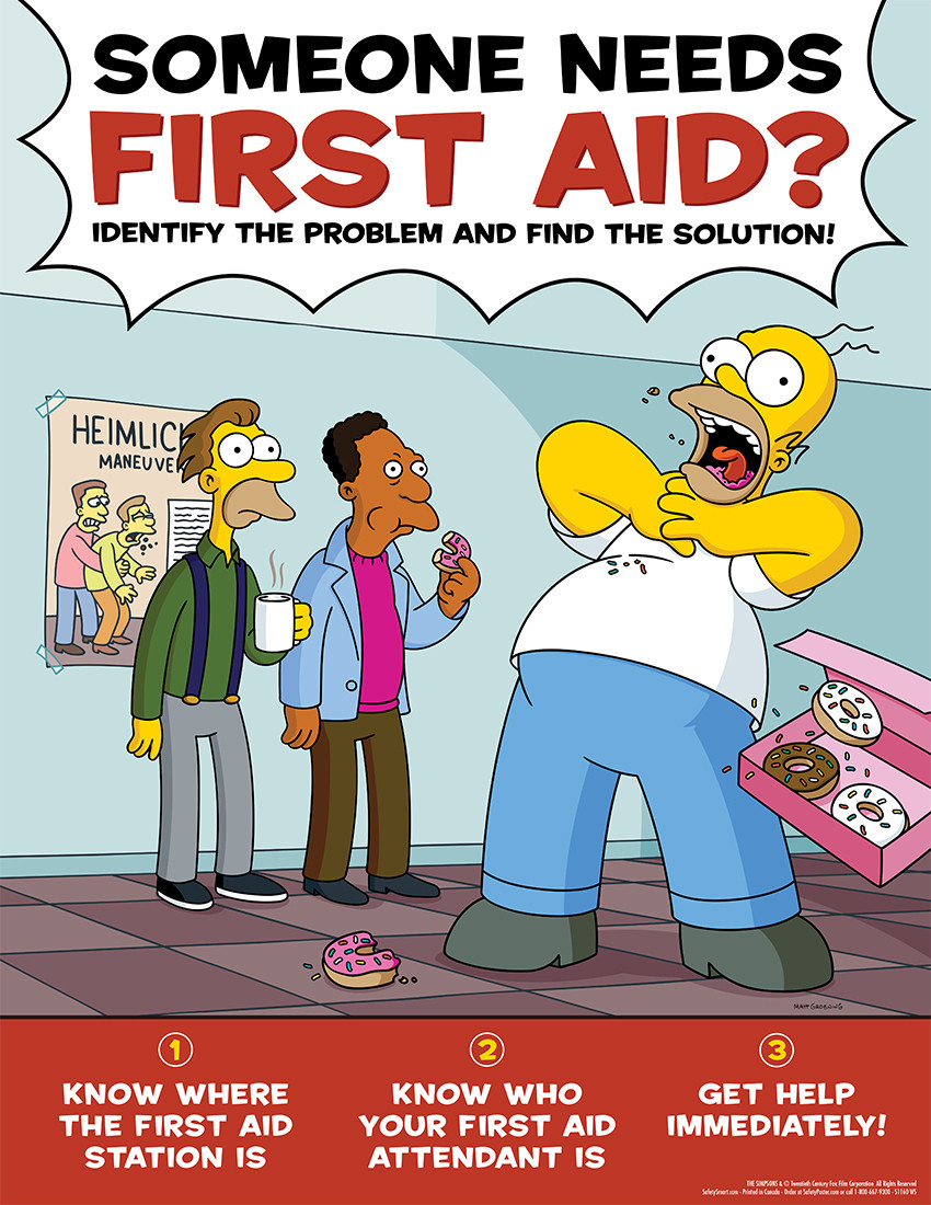 Someone Needs First Aid. What do you do? Do you know?