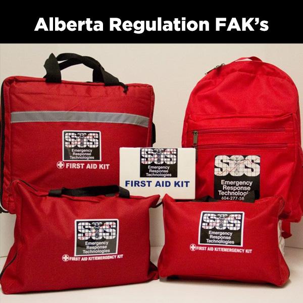 First Aid Kits - Alberta Regulation