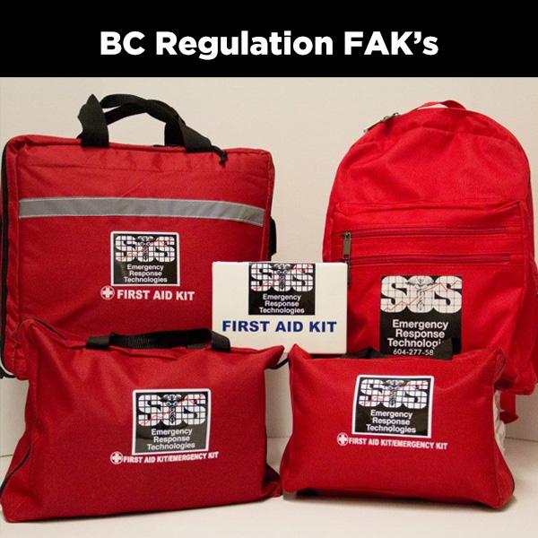 First Aid Kits - BC Regulation